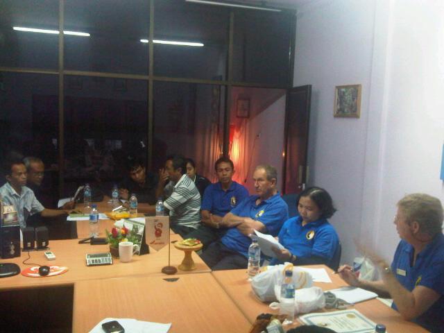 Bali meeting August 4th 2012