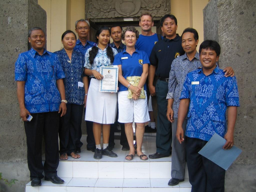 Robbie Lichtenberg Scholarship recipient 2010