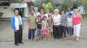 Teachers and sponsors at SD2 Pelaga