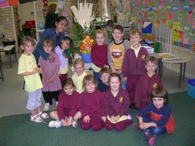 Sri Connolly PS class 2